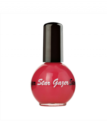 Stargazer nail polish Raspberry Red