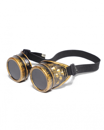 Steampunk Brille Messing