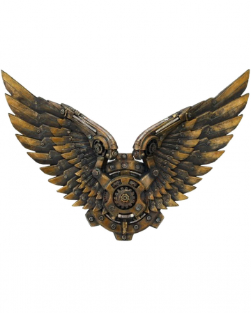 Steampunk robot wings