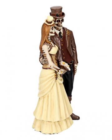 Steampunk Skelett Hochzeitspaar