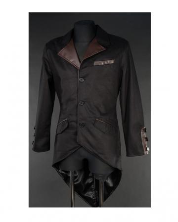 Steampunk Vintage Jacket mit Schwalbenschwanz