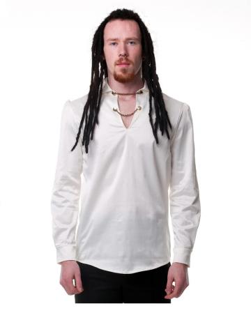 Gothic Men shirt cream