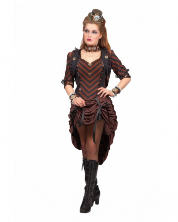 Steampunk Dress With Bolero