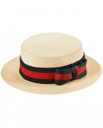 Straw Hat Deluxe With Hatband