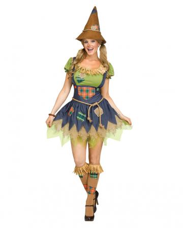 Süßes Vogelscheuchen Mädchen Erwachsenen Kostüm