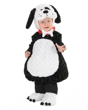 Sweet Bello Dog Costume Black And White