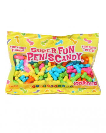 Super Fun Penis Candy Bag 100 Pieces
