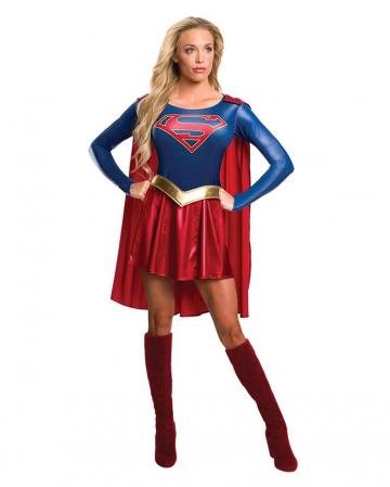 Supergirl Ladies Costume With Cape