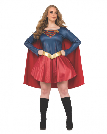 Supergirl Damenkostüm Plus Size