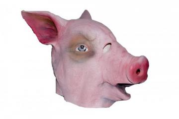 Tiermaske Pig