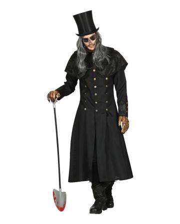Gravedigger Costume Coat With Collar For Men