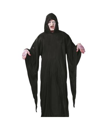 Totengräber Robe mit Kapuze und langen Ärmeln