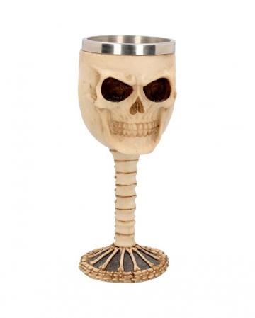 Skull Goblet With Stainless Steel Insert