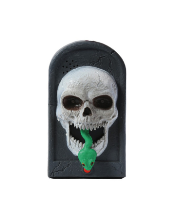 Skull Doorbell With Light, Sound & Movement