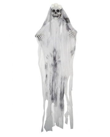 Totenschädel Braut Hängefigur