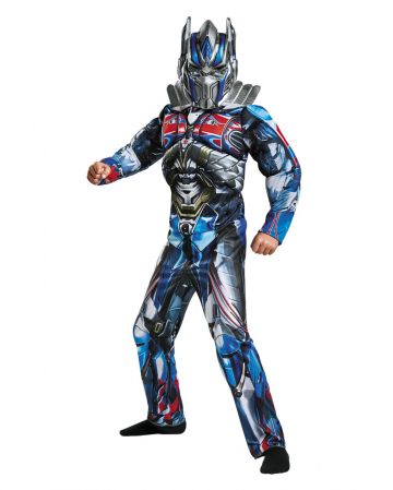 Transformers Optimus Prime Kids Muscle Costume