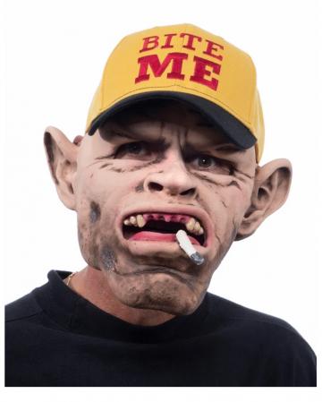 Trucker Hillbilly Mask With Baseball Cap