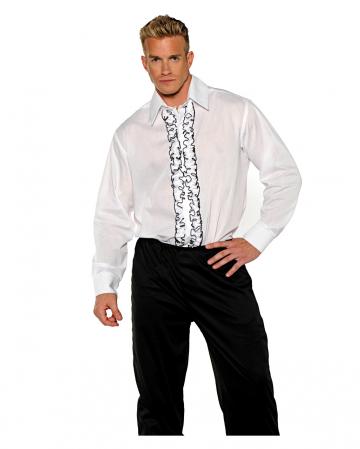 Tuxedo Costume Shirt white