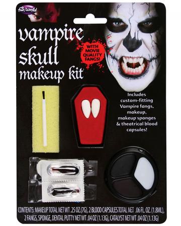 Vampire Skull Makeup Kit