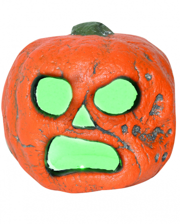 Creepy Halloween Pumpkin With LED 20cm