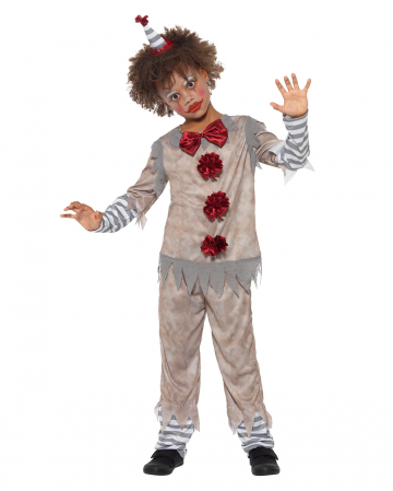 Vintage Horror Clown Boy Costume