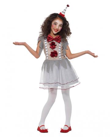 Vintage Horror Clown Girl Costume