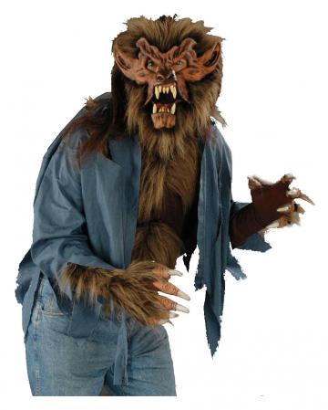 Werwolf Shirt Braun