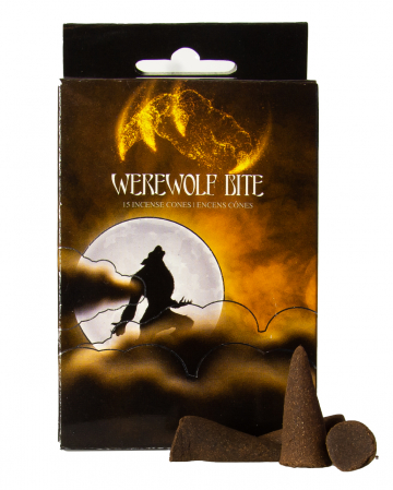 Werewolf Bite Incense Cones 15 Pcs.