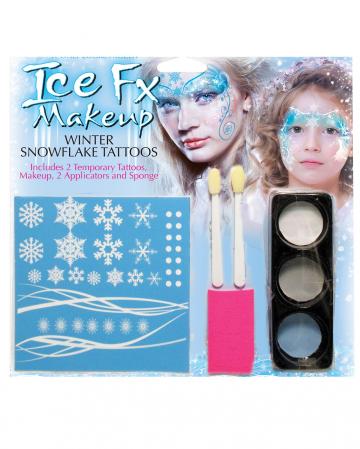 Winter Snowflake Make Up Kit