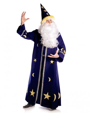 Wizard Men Costume blue