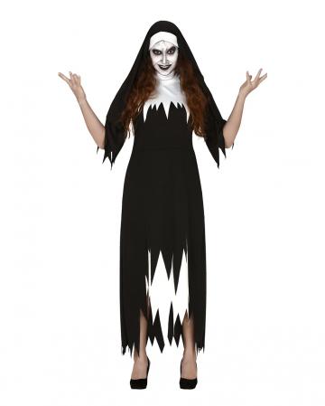 Zerfetztes Ordensschwester Kostüm für Damen