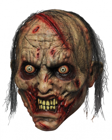 Zombie Biter Latex Maske