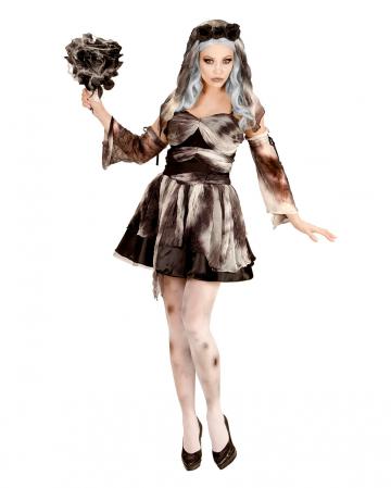 Zombie Bride Costume With Veil