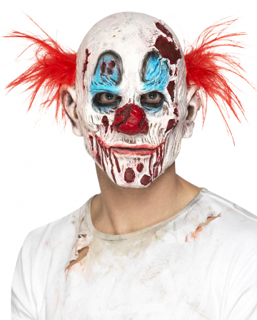 Zombie Clown Schaumlatex Maske