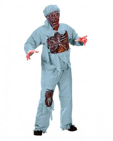 Zombie Doctor 3D Deluxe Costume