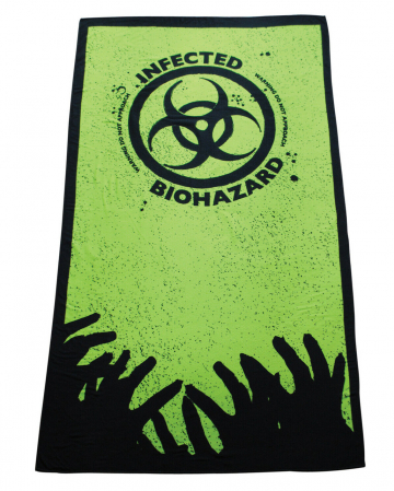 Zombie Infected Badehandtuch