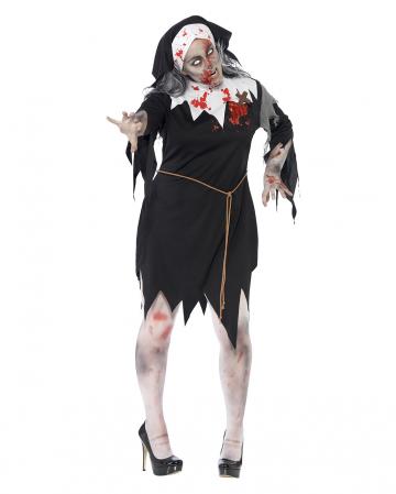 Zombie nuns costume XL