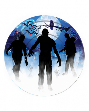 Zombie Party Paper Plate 8 Pieces