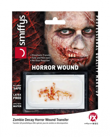 3D FX Wound Decayed Zombie Mouth