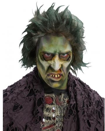 Zombie Perücke grün