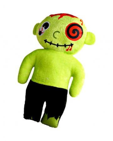 Zombie rag doll made of plush