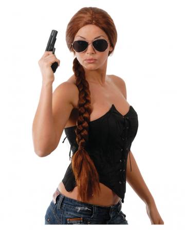 Zopfperücke Lara geflochten