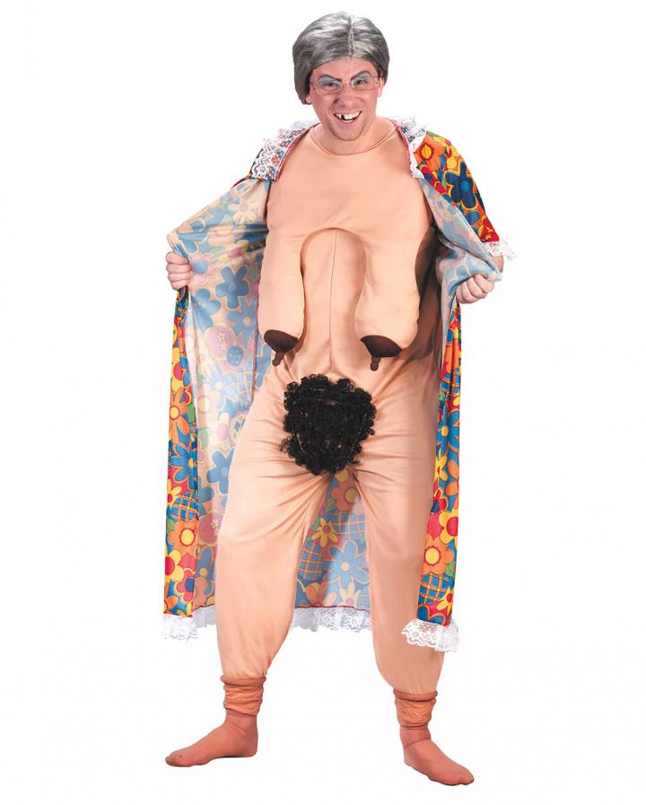 Frivole Oma Kostüm | FKK Kostüm | Horror-Shop.com