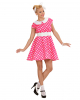 50er Jahre Polka Dot Kleid Gr. M