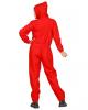 Bankräuber Kostüm Overall Unisex