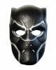 Black Panther Halbmaske für Erwachsene