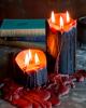 Bleeding Black Vampire Pillar Candle 7,5cm