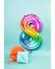 Foil Balloon Number 8 Rainbow