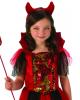 Glitter Sequins Devil Child Costume