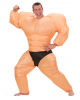 Bodybuilder costume inflatable